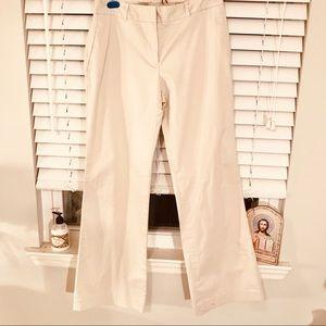 EUC Loft khaki pants size 6
